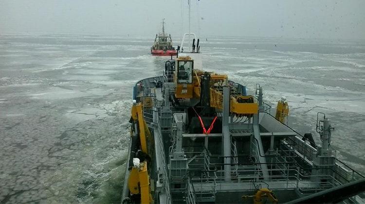 Ship Delivery TOS Ingulskyj TSHD