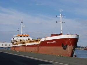 TOS Crew and TSHD Pays de Loire left France