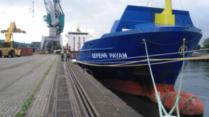 harbour sepehr payam ship delivery TOS