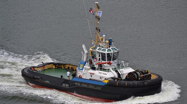 Ship Delivery Smit Saba TOS