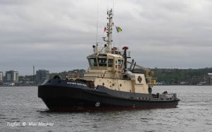 Ship Delivery Svitzer Nerthus TOS