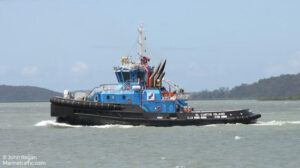 sailing curtis island ship delivery TOS