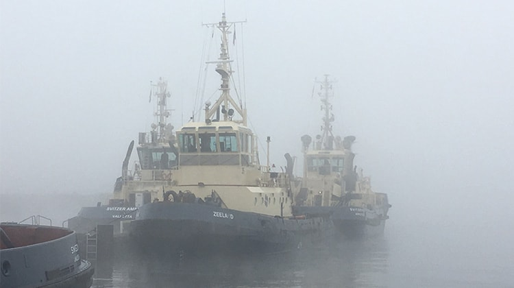 Ship Delivery Zeeland tug TOS