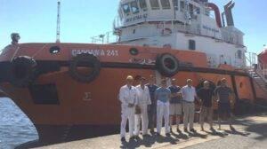 Ship Delivery Cardama 241 TOS