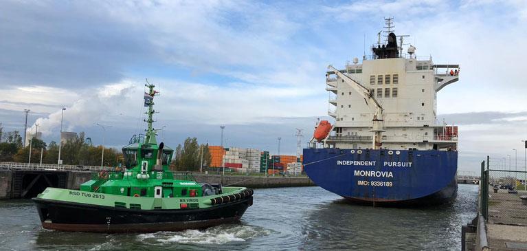 Bis Viridis harbour Antwerpen TOS