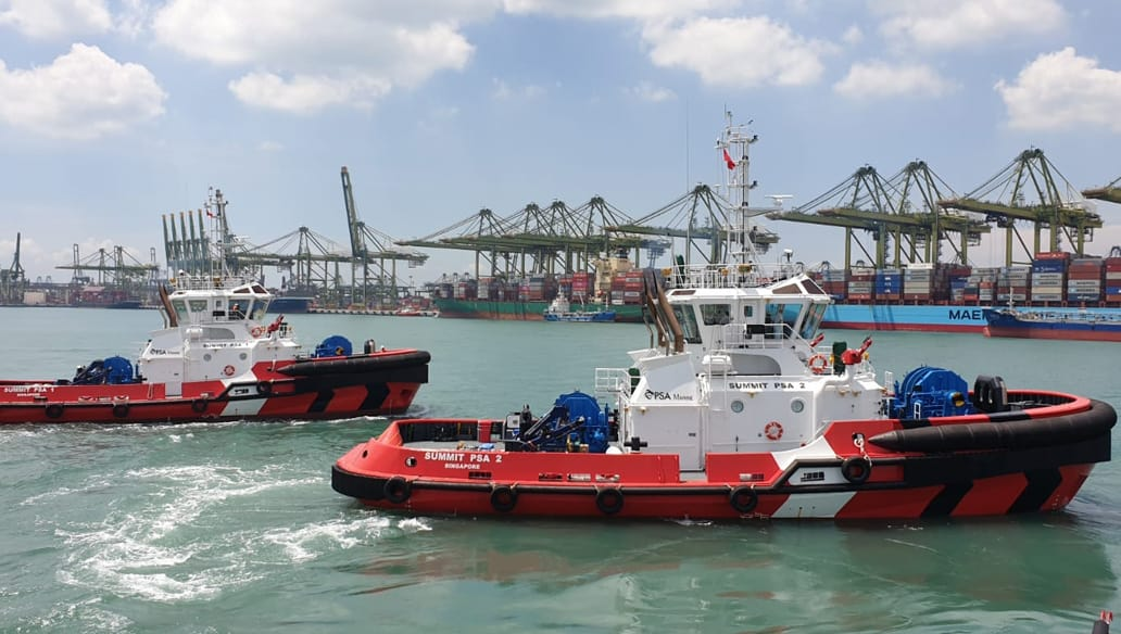 Tugs delivery TOS