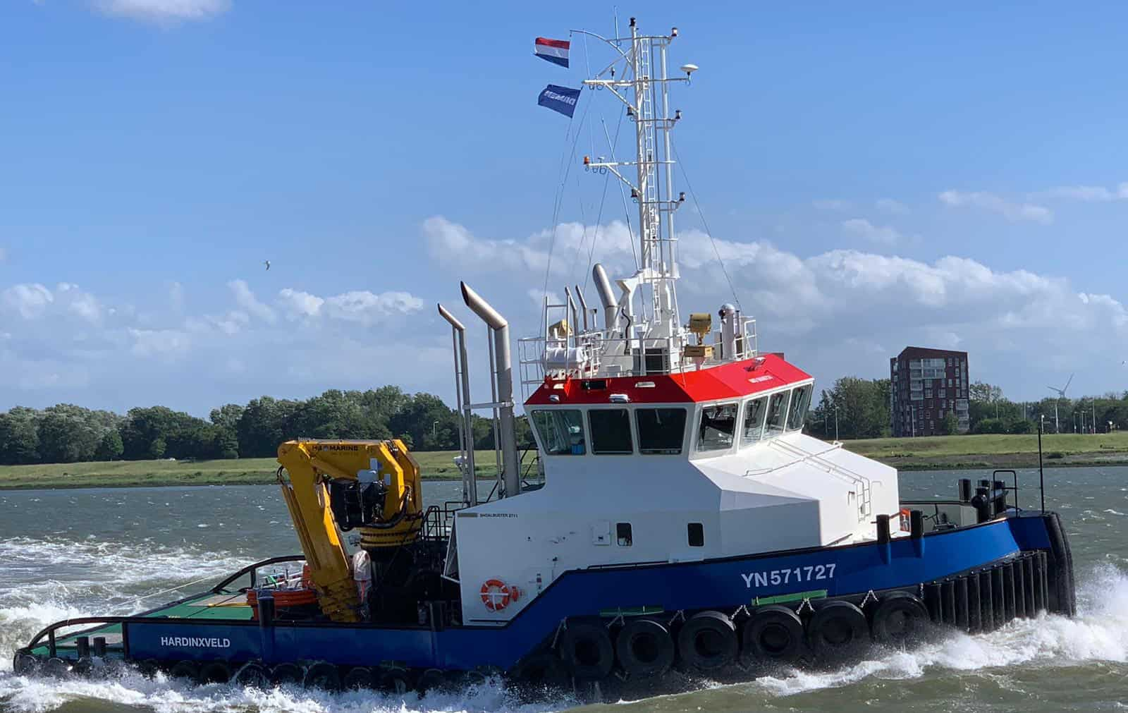 Hardinxveld Ship Delivery TOS