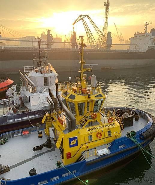 Ship Delivery Sundown Saam Valparaiso TOS