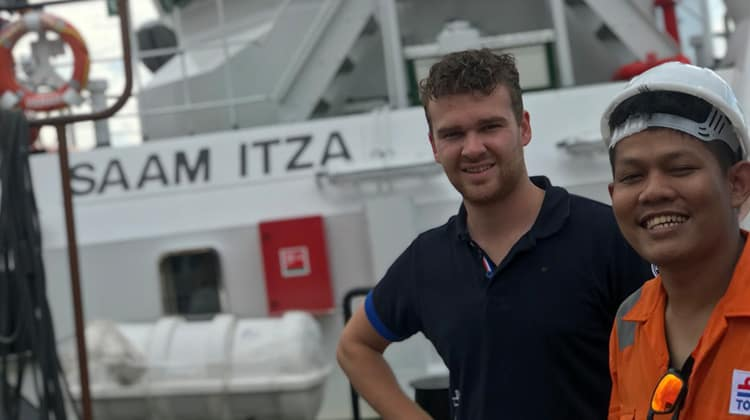 Ship Delivery TOS SAAM ITZA SI and Crew