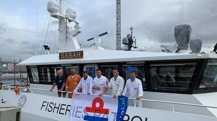 vessel SABAH Ship Delivery TOS
