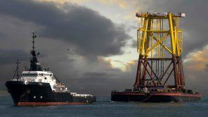 Stuurman haven en offshore sleepdiensten