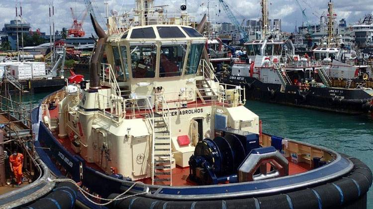 Ship Delivery Svitzer Abrolhos TOS