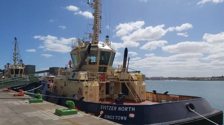Ship Delivery Svitzer North TOS