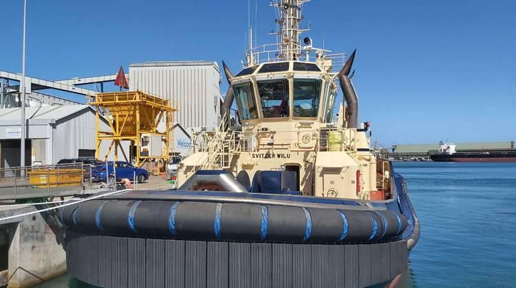 Ship Delivery Svitzer Wilu TOS