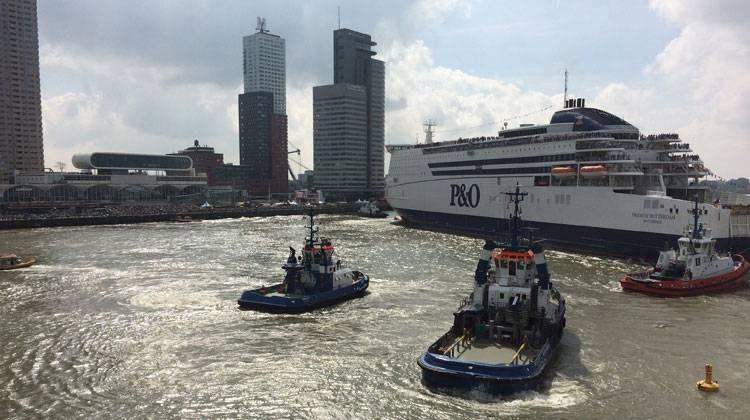 Kapitein havensleepboot TOS